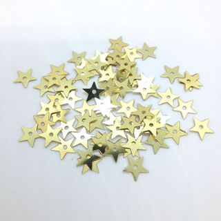 Scatters 10mm Stars Gold 500g