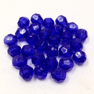Faceted Bds 6mm Purple 250g
