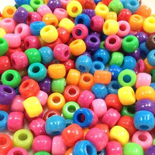 Pony Bds 6.5mm Assorted 250g