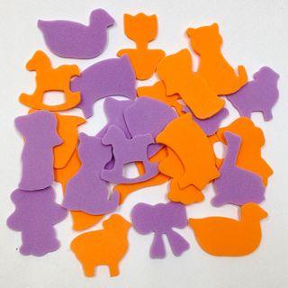 Craft Foam Cut-Outs Nursery Motifs Pkt25