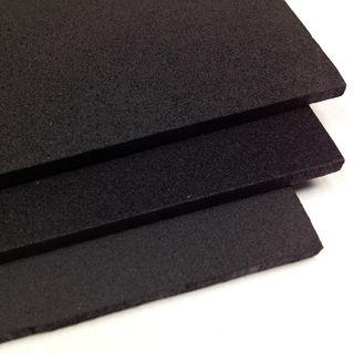 Craft Foam A4 Sheet 3mm Black Pkt 3