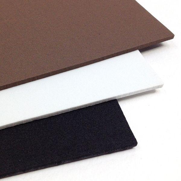 Craft Foam Sheet Black/White/Choc Pkt 3