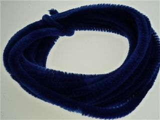 Chenille Stick Continuous 6mm RoyalBl 5m
