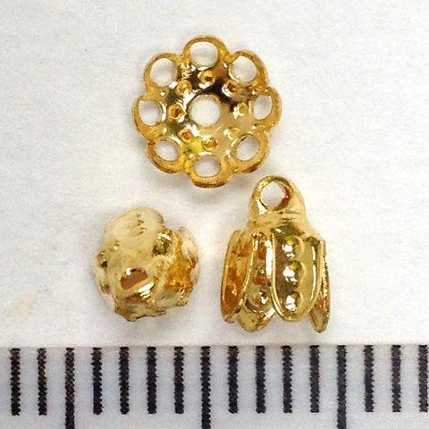 Bell Caps Gold Pkt 16