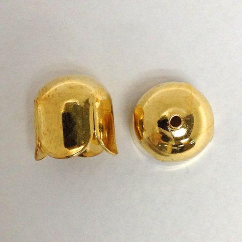 Bell Caps 12mm Gold Pkt 4
