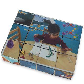 Childrens Own Wood Puzzle Blocks Kit