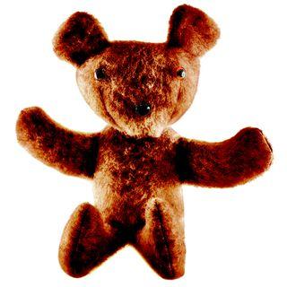 Arbee Bear Plush DK Heather Brown Kit