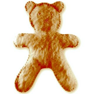 Craft Kit - -Flat Bear Plush Light Brown