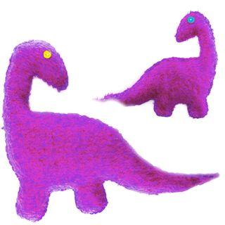Cute Dinosaur Purple Passion Kit