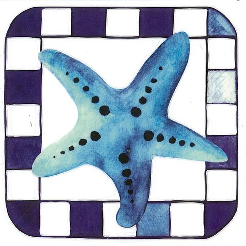 Dec/Transfers Starfish Design