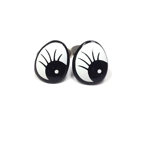 Eyes Comic w/Lashes 25mm Pkt10