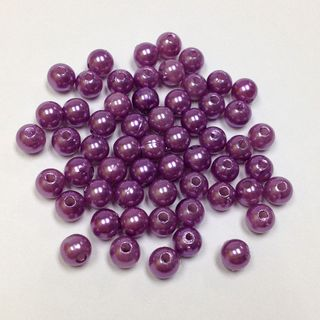Pearl Beads 6mm Lilac 250g