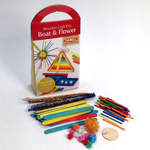 Craft Kit Boat & Flower
