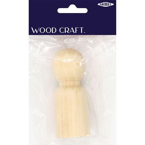 Wood Boy Large 1Pc