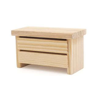 Dolls Furniture 2 Drawers Long