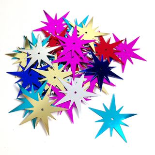Scatters 25mm Starburst Assorted 500g