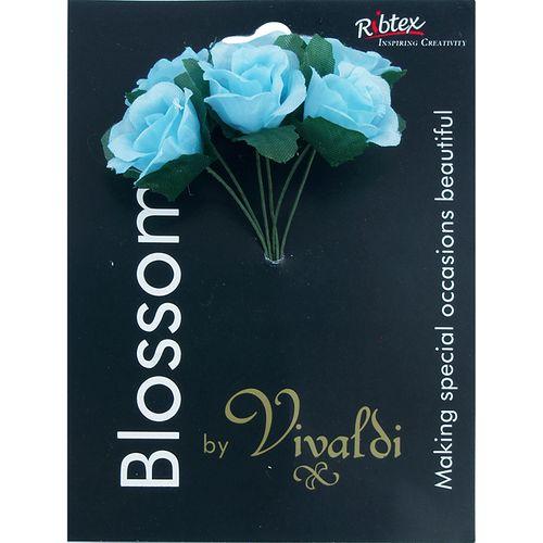 Flower Mini Rose 6H Blue 1Bunch