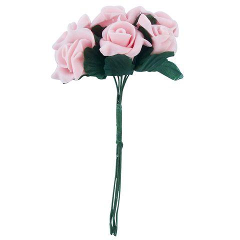 Flower Foam 6H Rose Peach 1Bch