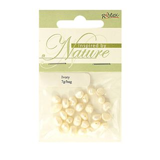 Bead Freshwater Pearl Ivory 7G