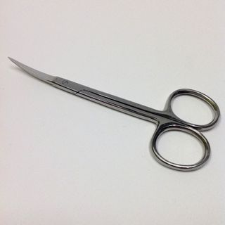 Scissors Iris Curved Pkt 1