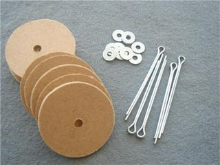 Wooden Animal Joints Pins 45mm 5 sets