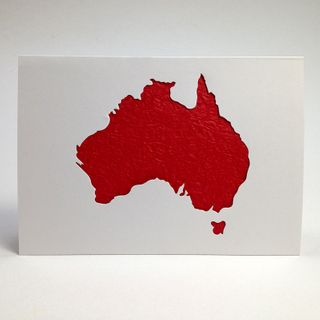 Aus Series Card Cut-Out Australia Pkt 1