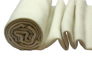 Nursery Blanketing Felt 100%Wool Natural