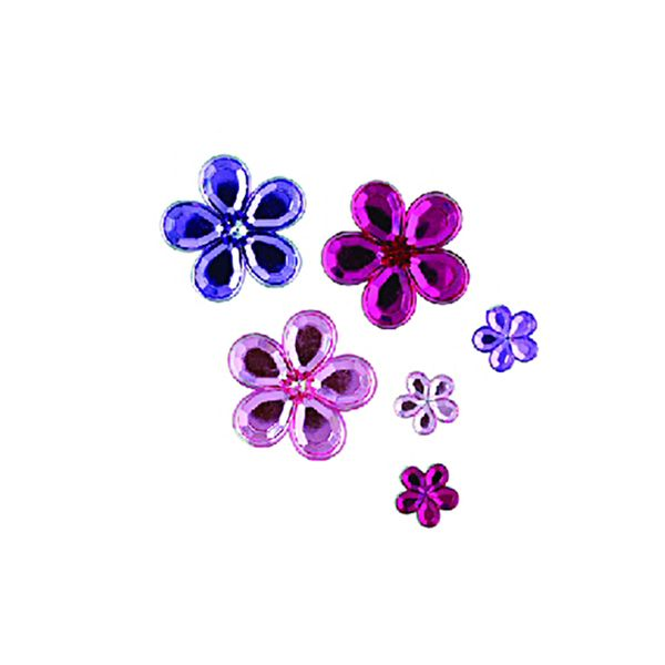 Flowers Assorted Sizes Pink/Lavender