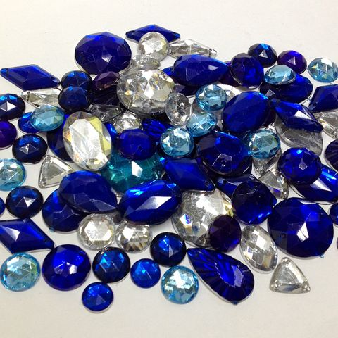 Gemstone Box Mixed Blue 100g