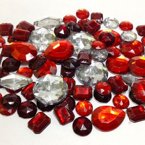 Gemstone Box Mixed Red 100g