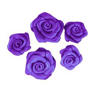 Flower Grub Rose Mixed Purple 18Pcs