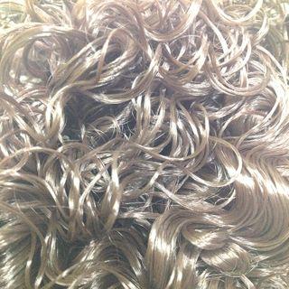 Hair Curly Autumn Brown 25g