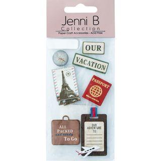 Jenni B World Travel 7Pcs