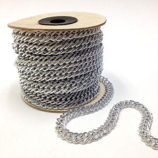 Aluminium Chain 6mm Silver 10mtrs