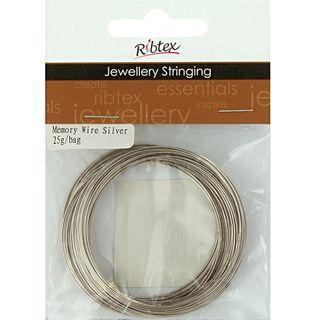 Memory Wire Bracelet Size Silver 25G