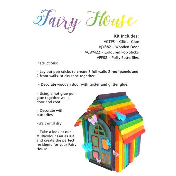 Craft Kit - Fairy House