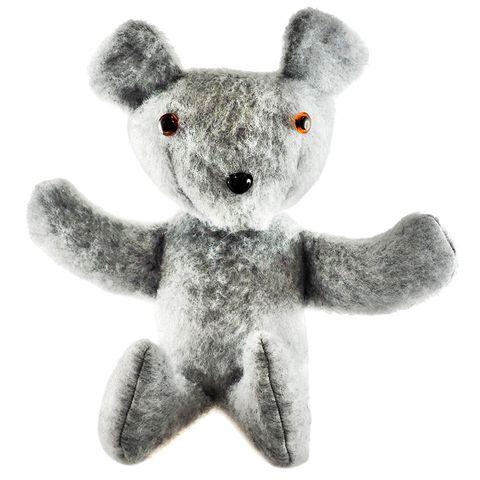 Craft Kit - Bear Shaggy Stormy Grey