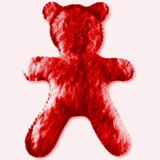 Craft Kit - Flat Bear Plush Red
