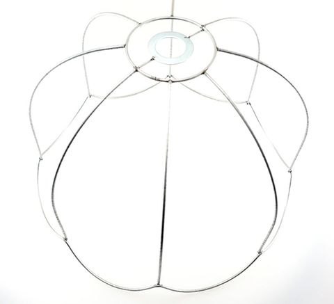"""Lampshade Ceiling Fit Tiffany Scallop 8"""""""