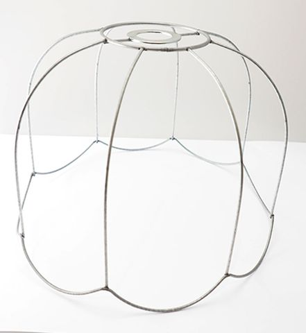 """Lampshade Ceiling Fit Tiffany Scallop16"""""""