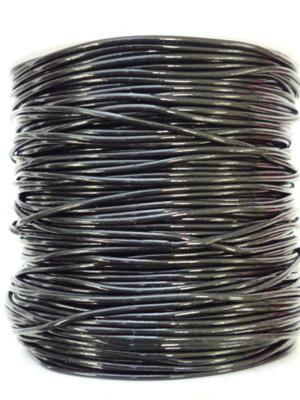 Plastic Tubing 1mm Black 80m