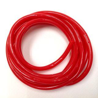 Plastic Tubing 4mm Red 2m