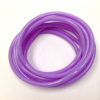Plastic Tubing 4mm Lilac 2m