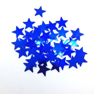 Scatters 17mm Stars Royal Blue 500G