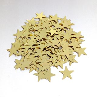 Scatters 17mm Stars Gold 500g