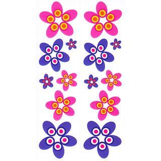 Dec/Borders Purple/Pink Flowers