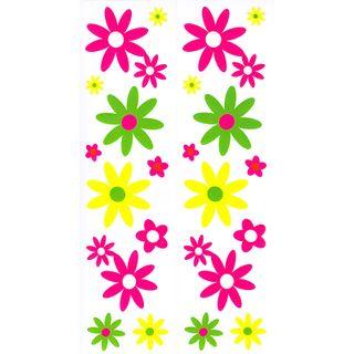 Dec/Borders Pink/Green Flowers
