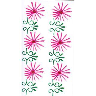 Dec/Borders PinkFlower