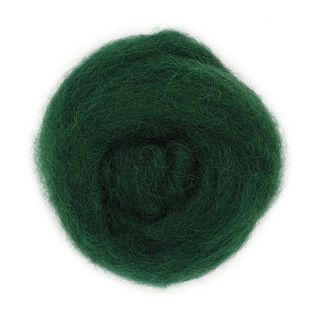 Combed Wool Green 10g