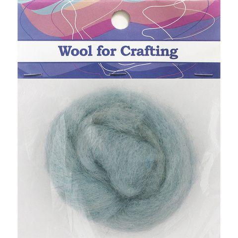 Combed Wool Light Blue 10g